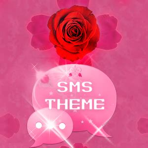 theme rose android theme rose pink cute go sms android apps on google play