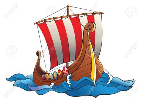 viking boats cartoon viking ship clipart drakkar pencil and in color viking