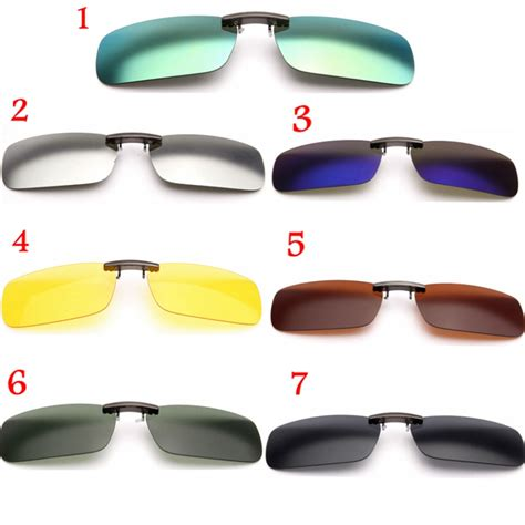 driving clip on glasses polarized clip on sunglasses sun glasses driving