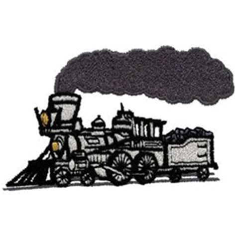 embroidery design train dakota collectibles embroidery design steam train 2 03