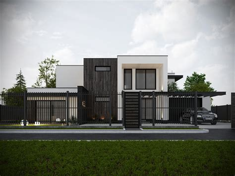 haus privat house on behance
