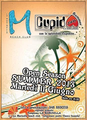 ingresso cupido opening cupido summer 2013 la marinella club