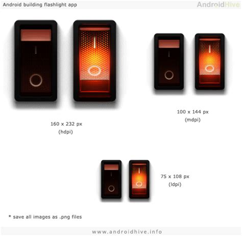 flashlight for android android developing flashlight application
