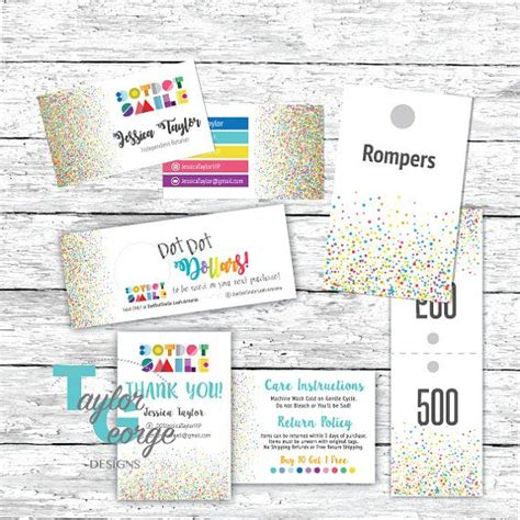 dot dot smile business card template 15 best gift certificate templates images on