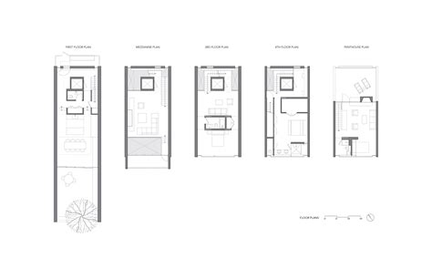 urban townhouse floor plans gallery of urban townhouse gluck 11