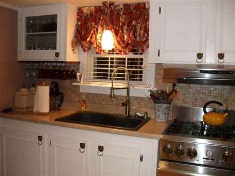 home decor kitchen ideas hometalk repainted all the walls in our mobile home and