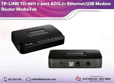 Adsl2 Ethernet Usb Modem Router Td 8817 tp link td 8817 1 port adsl2 ethern end 3 6 2018 10 00 am