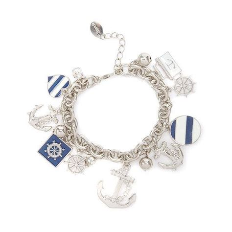 nautical charm bracelet s anchors away