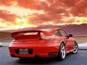 Porsche Sunset 2003 Porsche 911 Gt2 Rear Angle Sunset 1280x960