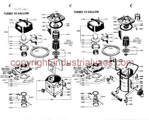 turbo vacuum parts accessories diagram