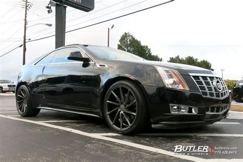 cadillac cts 20 inch wheels cadillac cts v coupe with 20in vossen cvt wheels