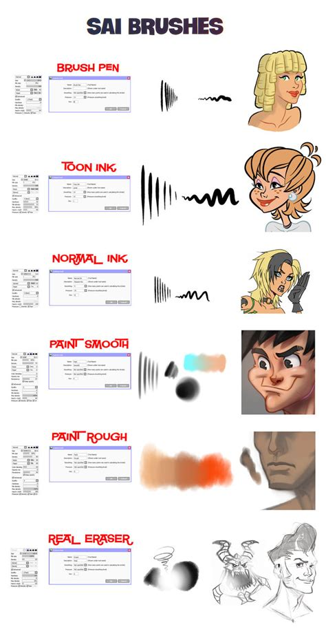 paint tool sai blending tutorial sai brushes by docsinistar on deviantart