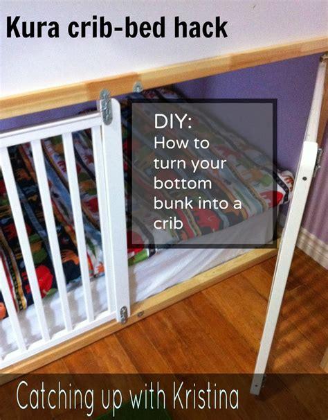 Convert Crib To Toddler Bed Diy by Meer Dan 1000 Idee 235 N Bunk Bed Op
