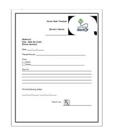 doctor note template free 27 free doctor note excuse templates free template