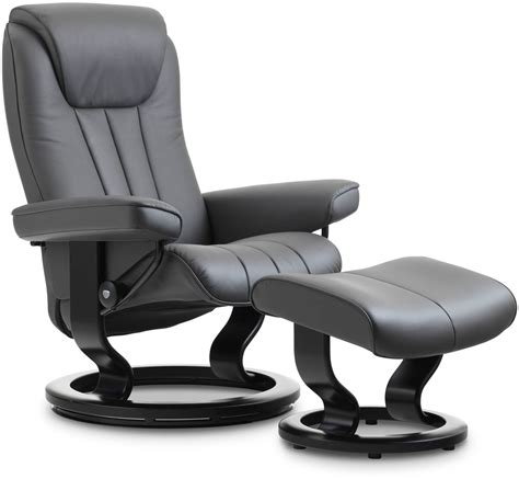 Stressless Bliss Classic Base Small Recliner Chair With Stressless Swivel Recliner Chairs