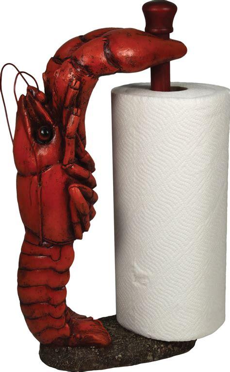 unusual paper towel holders unique lobster paper towel holder design style for