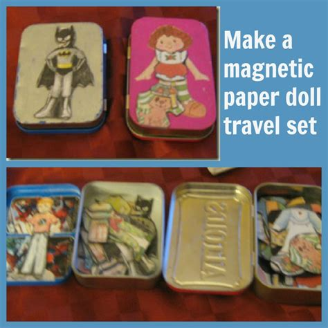 How To Make Magnetic Paper Dolls - tutorial how to make magnetic paper dolls