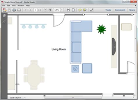 Free Living Room Plan Templates For Word Powerpoint Pdf How To Create A Floor Plan In Powerpoint