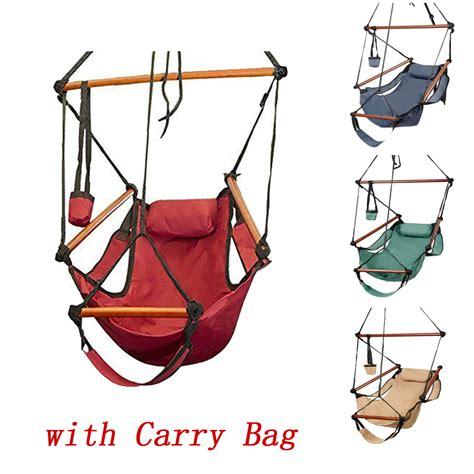 deluxe pleasure swing outdoor indoor hammock hanging chair air deluxe swing