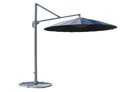 Offset Patio Umbrellas Clearance Kontiki Shade Cooling Offset Patio Umbrellas 9 Ft Fiberglass Hanging Umbrella 360