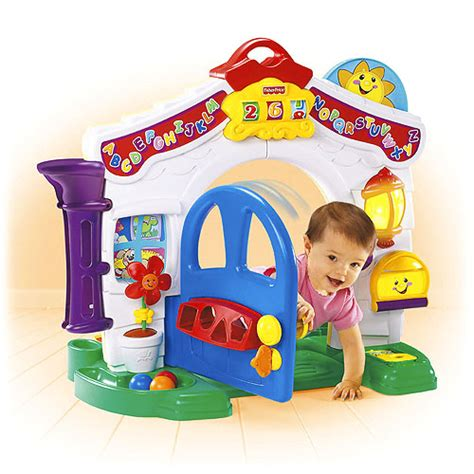 fisher price laugh and learn house object moved