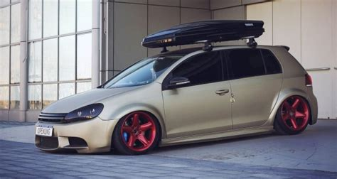 volkswagen rabbit stanced stanced volkswagen golf gti cars one