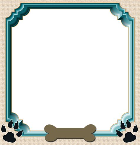 puppy frames free illustration frame scrapbook frame free image on pixabay 1684392