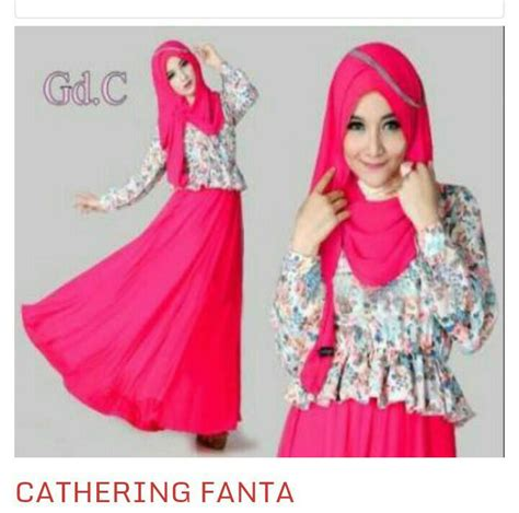 Dress Muslim Wanita baju muslim dress wanita modern murah quot cathering quot
