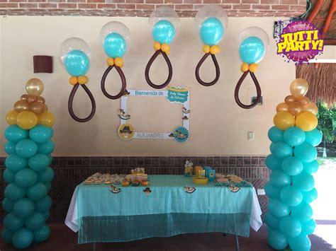 decoracin de servilleteros para bautizo tutti contenti decoraciones decoracion para bautizos baby shower ideas globos con helio playa decoraci 243 n con globo balloons globos y