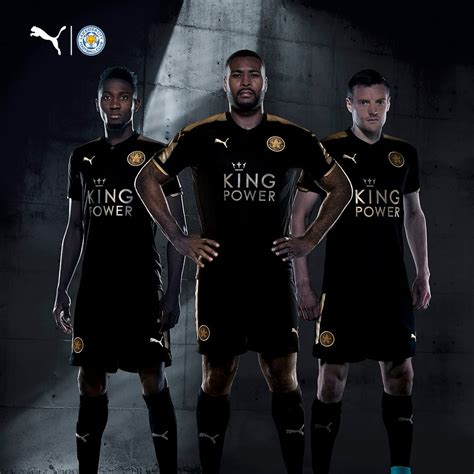 Leicester Home Leicester Away leicester city 2017 18 away kit 17 18 kits football shirt