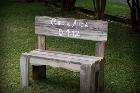 wedding benches custom order for denver needs by may 20th wedding bench