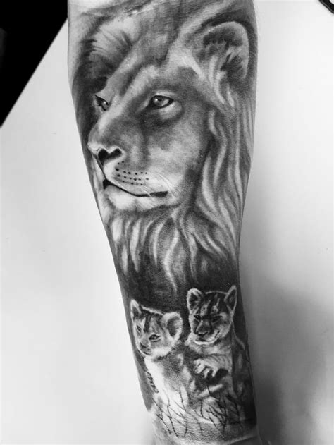 lion and cub tattoo 19 best and cub designs images on