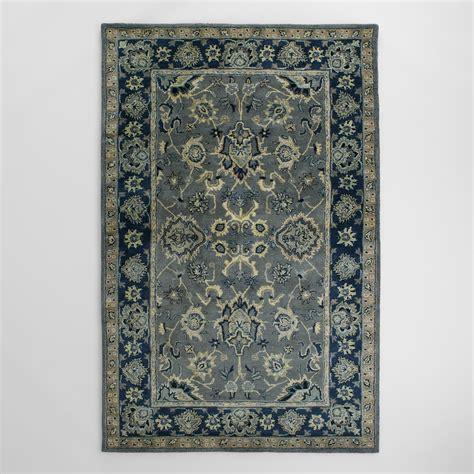 cost plus world market rugs agra tufted wool area rug world market