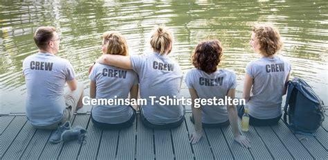 shirt selbst gestalten dein  shirt designen teamshirts
