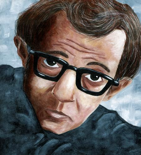 film cartoon with the voice of woody allen woody allen by davor famous people cartoon toonpool