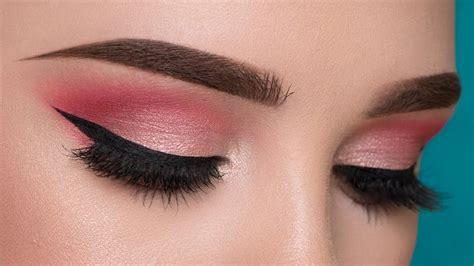 tutorial makeup eyeshadow pink easy pink summertime makeup tutorial youtube