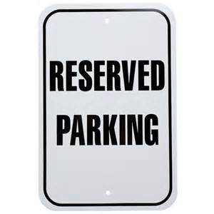 reserved sign clipart clipart suggest