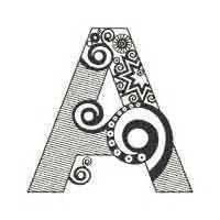 Abstract Letter Coloring Pages | alphabet coloring 187 free printable alphabet coloring pages