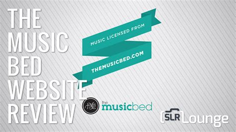 free music beds amazing and affordable royalty free music via the music bed slr lounge rapid gear