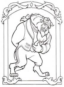 and the beast coloring pages and the beast coloring pages