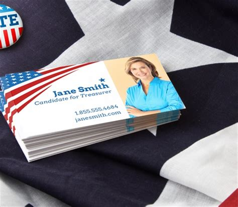 political caign business card templates political business cards caign business cards signazon