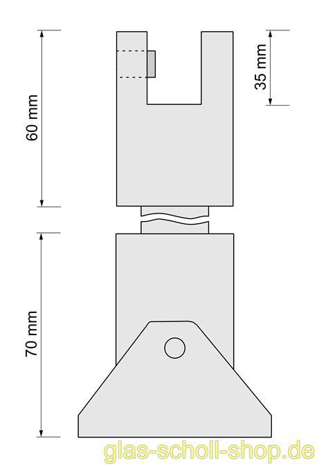Decke Artikel by Glas Scholl Webshop Set Runde Stabilisierungsstange 1000