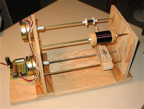 diy air inductor winding automatic coil winder