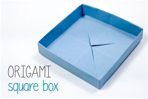 Origami Square Box - origami square box