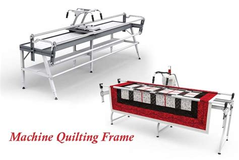 How Does A Arm Quilting Machine Work by Machine Quilting Frame Image