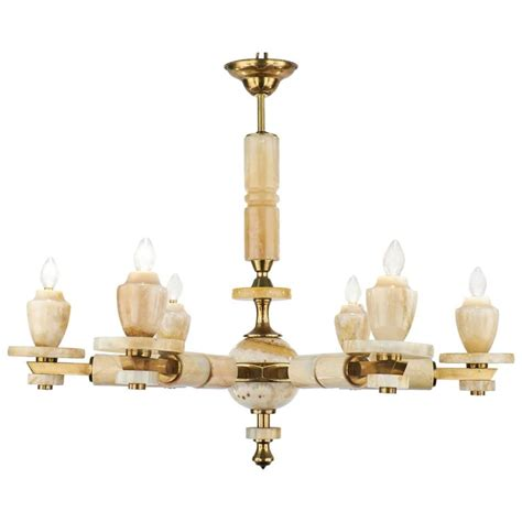 Onyx Chandelier Italian Vintage Onyx Chandelier For Sale At 1stdibs