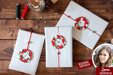 Geschenke Einpacken Weihnachten by Geschenke Verpacken Mit B 252 Gelperlen