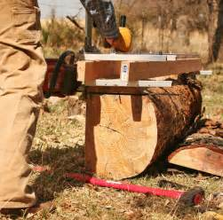 The project began with the felling and milling of a long dead pine in