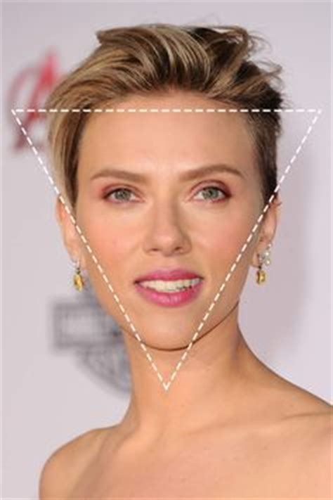 narrow forehead celabriths here are some hair style tips for those with a triangle