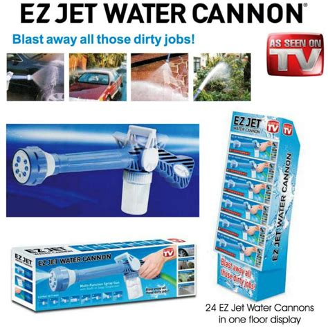 Ez Cannon by Ez Jet Water Cannon Pressure Water Jet Gun With 8 Built